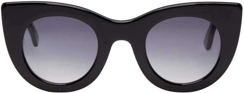 Thierry Lasry Black Orgasmy Cat-eye Sunglasses