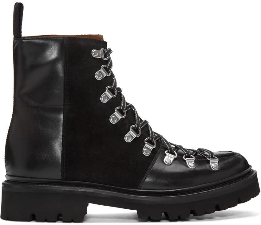 Grenson Black Brady Boots
