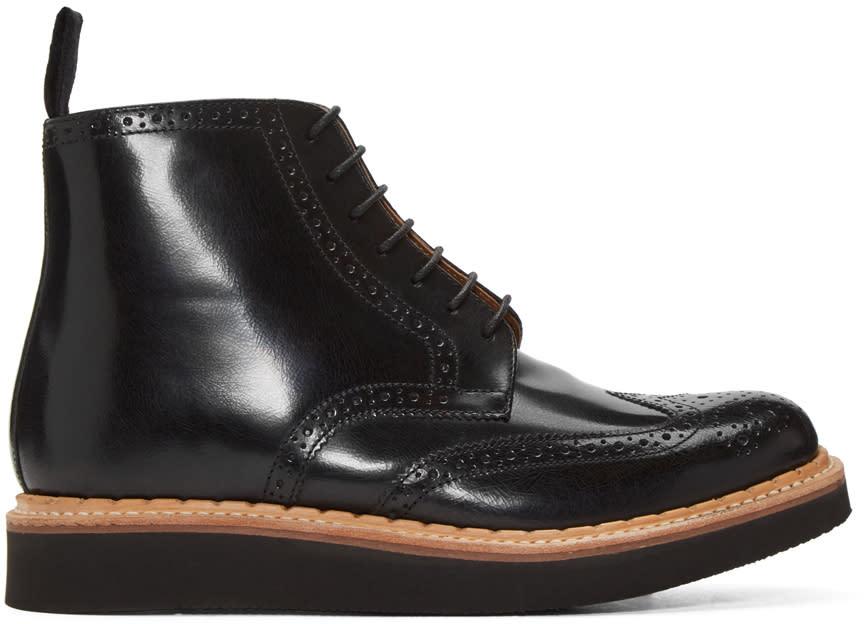 Grenson Black Sharp Boots