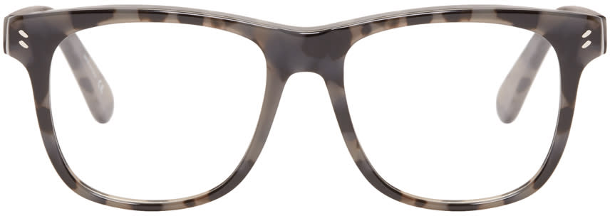 Stella Mccartney Black Square Optical Glasses