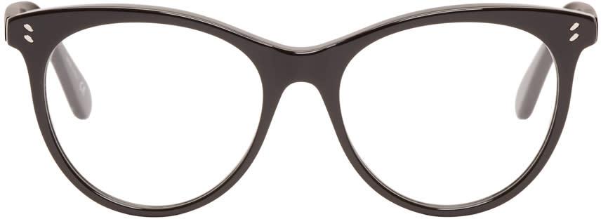 Stella Mccartney Black Round Optical Glasses
