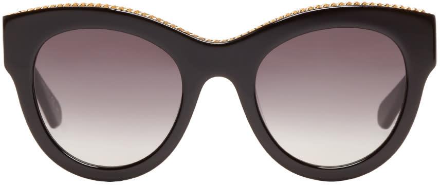 Stella Mccartney Black Cat-eye Sunglasses