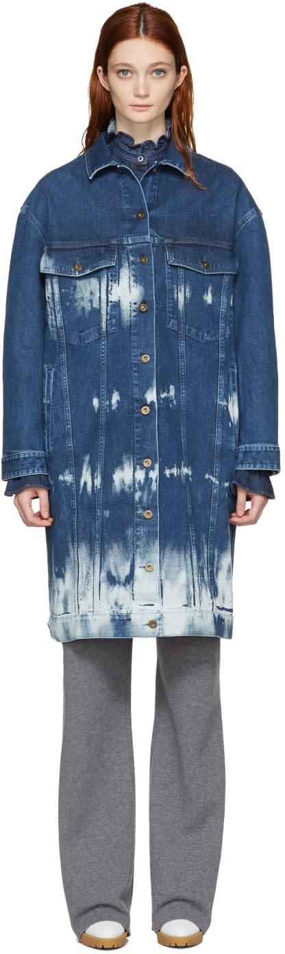 Stella Mccartney Blue Denim Malori Jacket