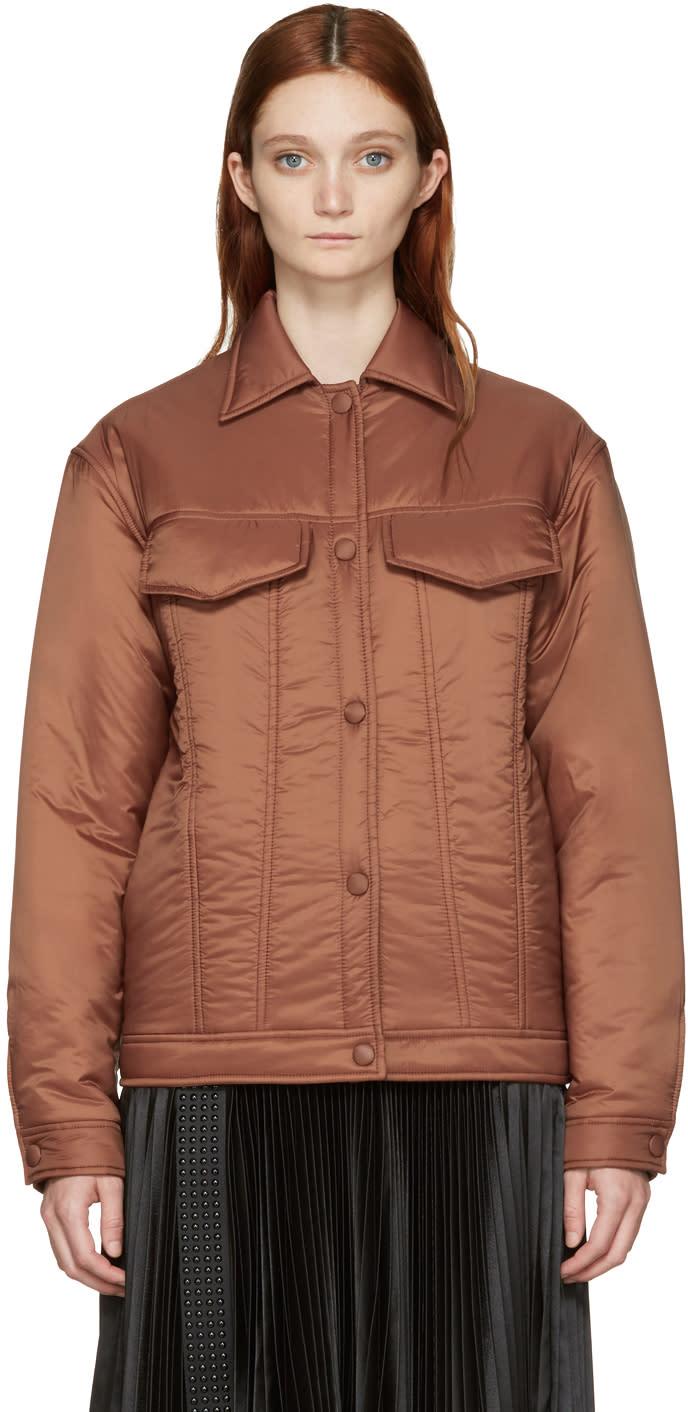 Stella Mccartney Brown Nylon Moony Jacket