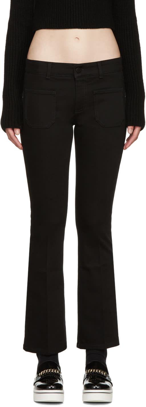 Stella Mccartney Black Skinny Kick Jeans