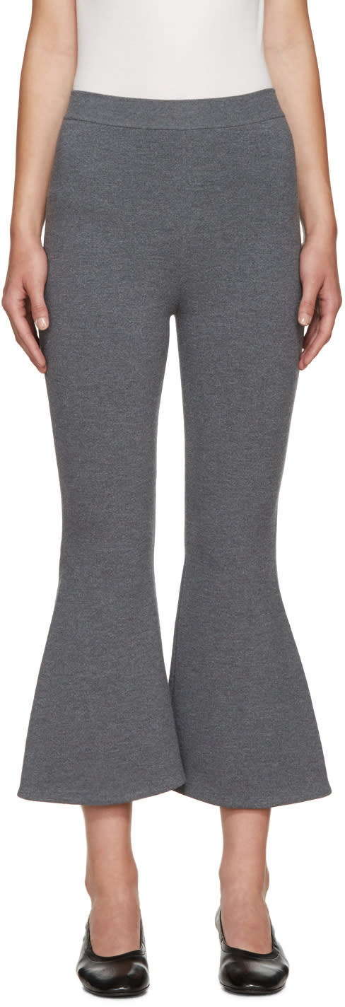 Stella Mccartney Grey Strong Lines Trousers