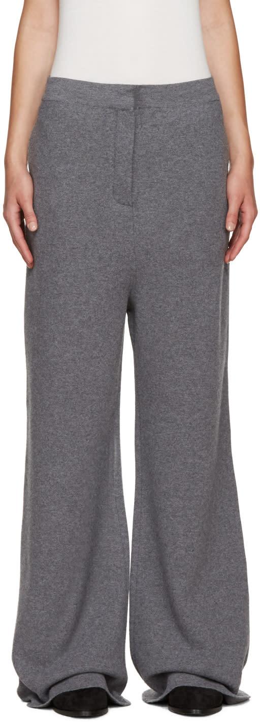 Stella Mccartney Grey Wool Trousers