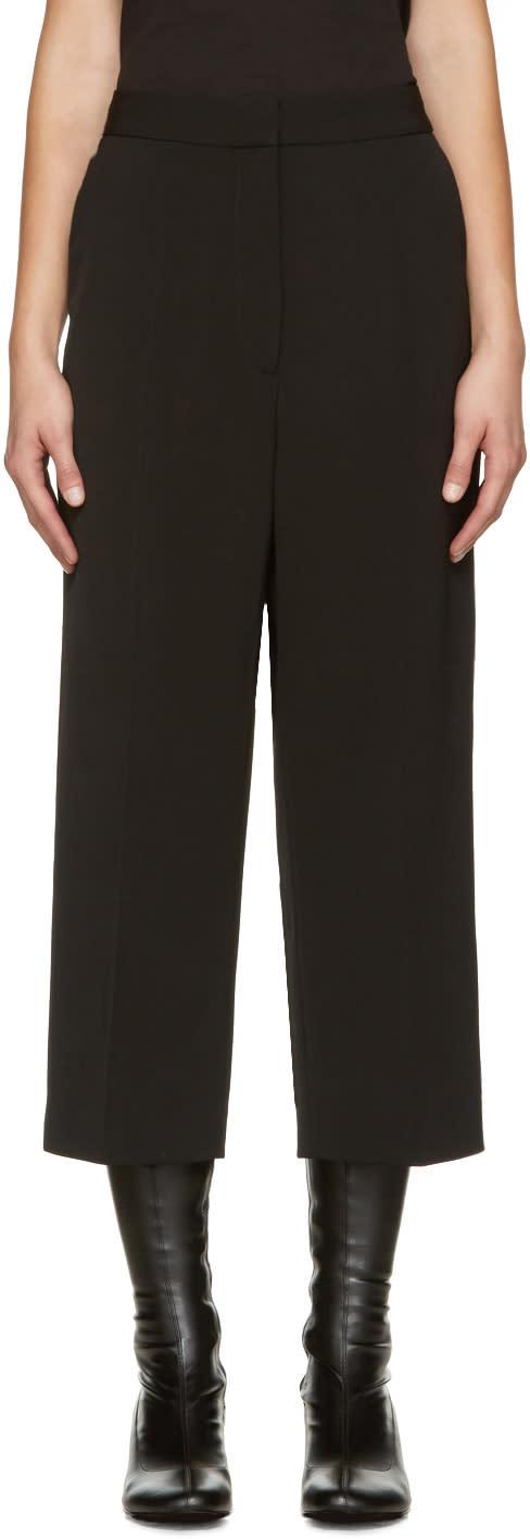 Stella Mccartney Black Wool Trousers
