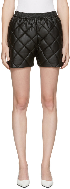 Stella Mccartney Black Cesira Shorts