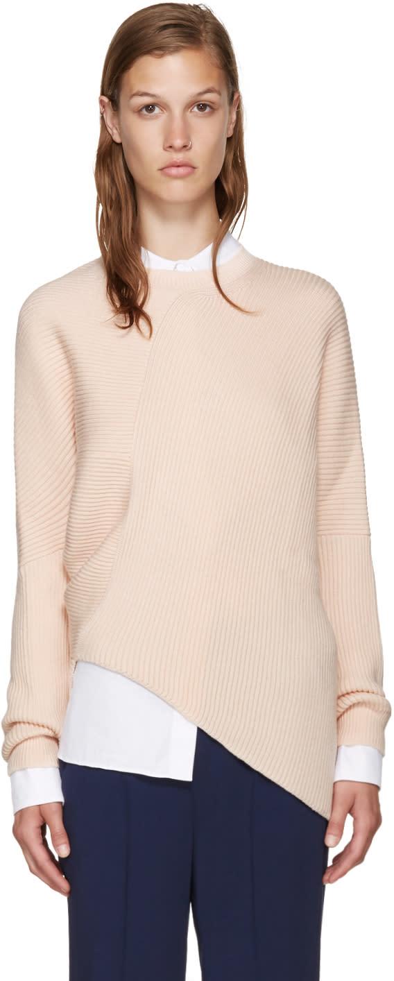 Stella Mccartney Pink Clean Rib Sweater