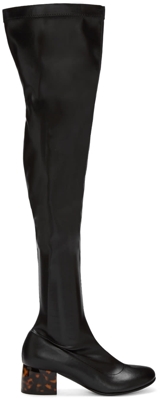 Stella Mccartney Black Tall Boots