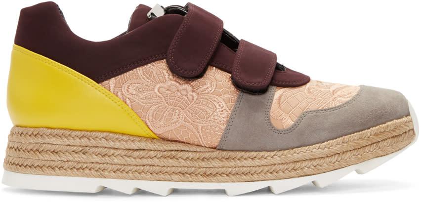 Stella Mccartney Multicolor Velcro Macy Sneakers