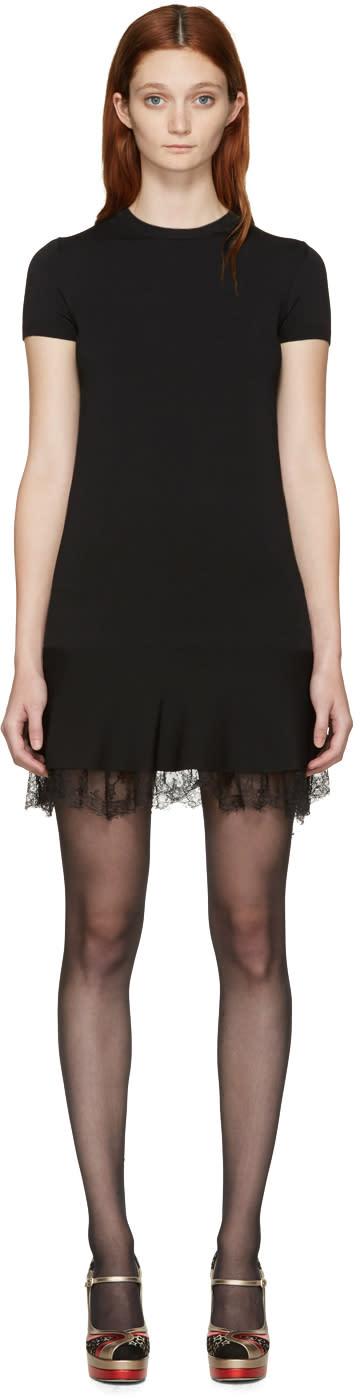 Valentino Black Knit Dress