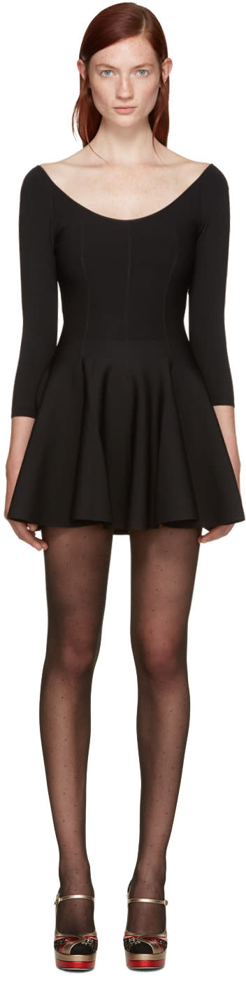 Valentino Black A-line Dress