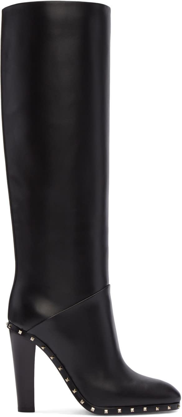 Valentino Black Valentino Garavani Soul Rockstud Boots