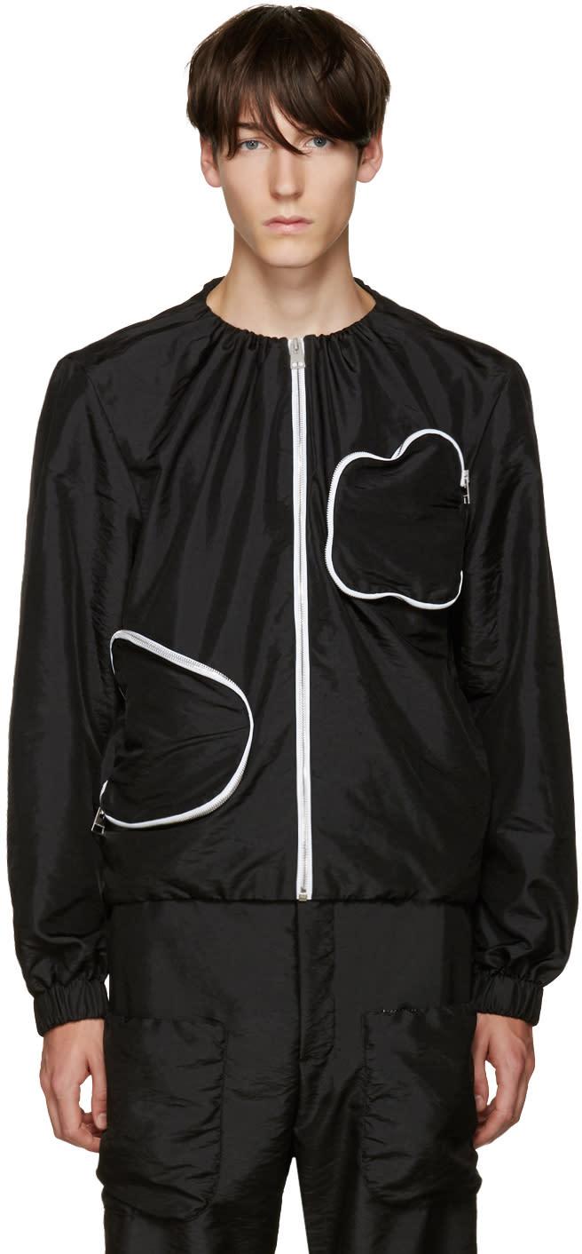 J.w. Anderson Black 3d Pocket Jacket