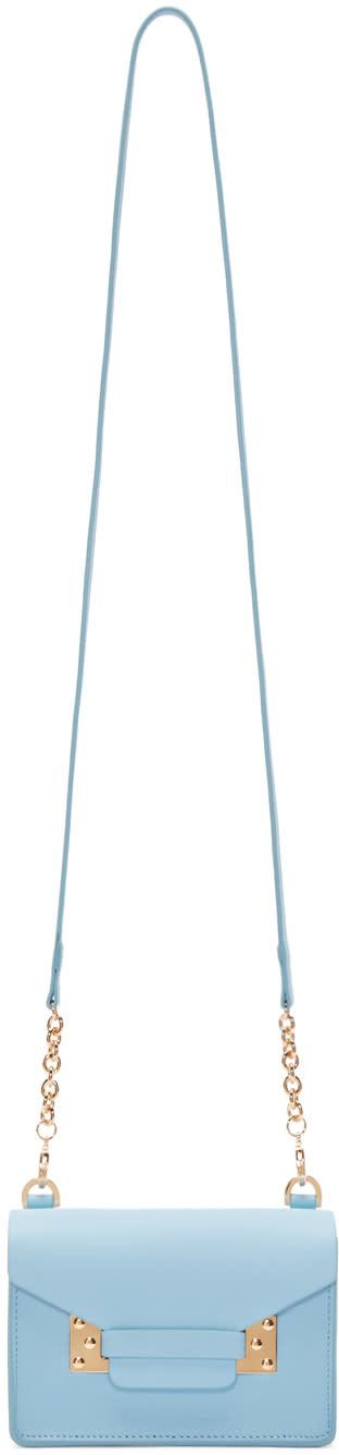 Sophie Hulme Ssense Exclusive Blue Nano Milner Envelope Bag