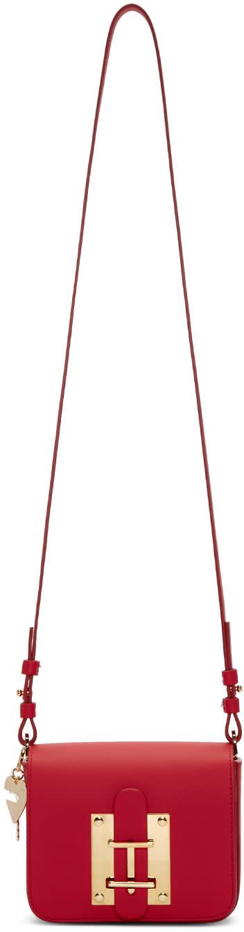 Sophie Hulme Pink Small Darwin Shoulder Bag