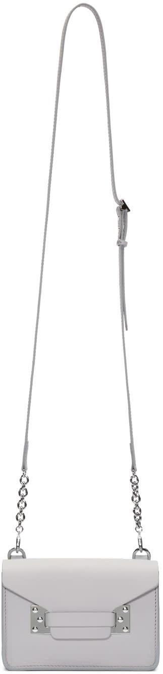 Sophie Hulme Grey Nano Milner Shoulder Bag