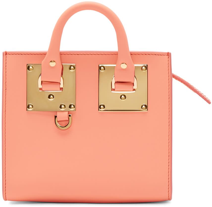 Sophie Hulme Ssense Exclusive Pink Albion Box Tote