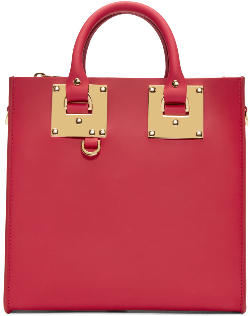 Sophie Hulme Red Square Albion Tote