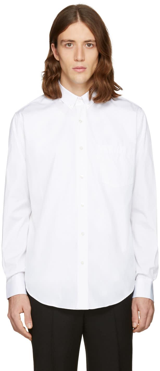 Ami Alexandre Mattiussi White Summer Fit Shirt