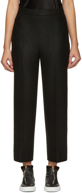 Calvin Klein Collection Black Wide-leg Jeno Trousers