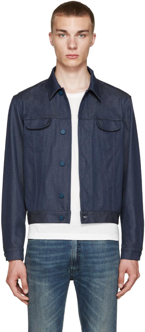 Calvin Klein Collection Blue Telford Jacket