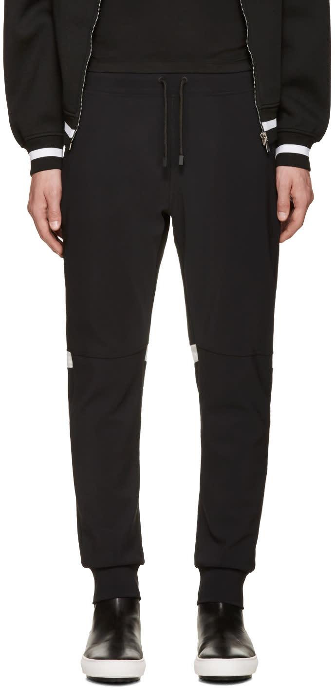 Calvin Klein Collection Black Knit Major Lounge Pants