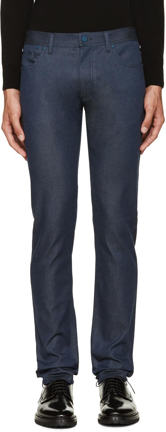 Calvin Klein Collection Blue Graft Jeans