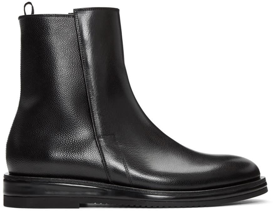 Calvin Klein Collection Black Craig Boots