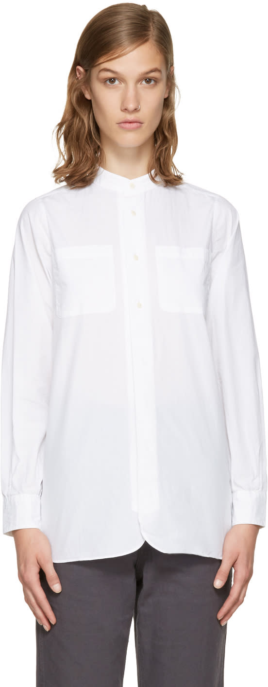Visvim White Vasher Shirt