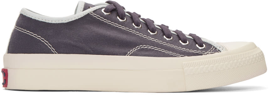 Visvim Purple Skagway Sneakers