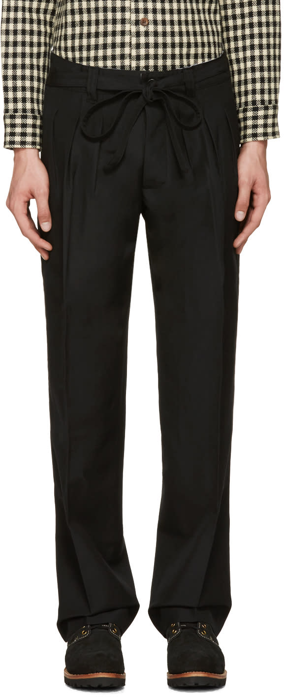 Visvim Black Hakama Trousers
