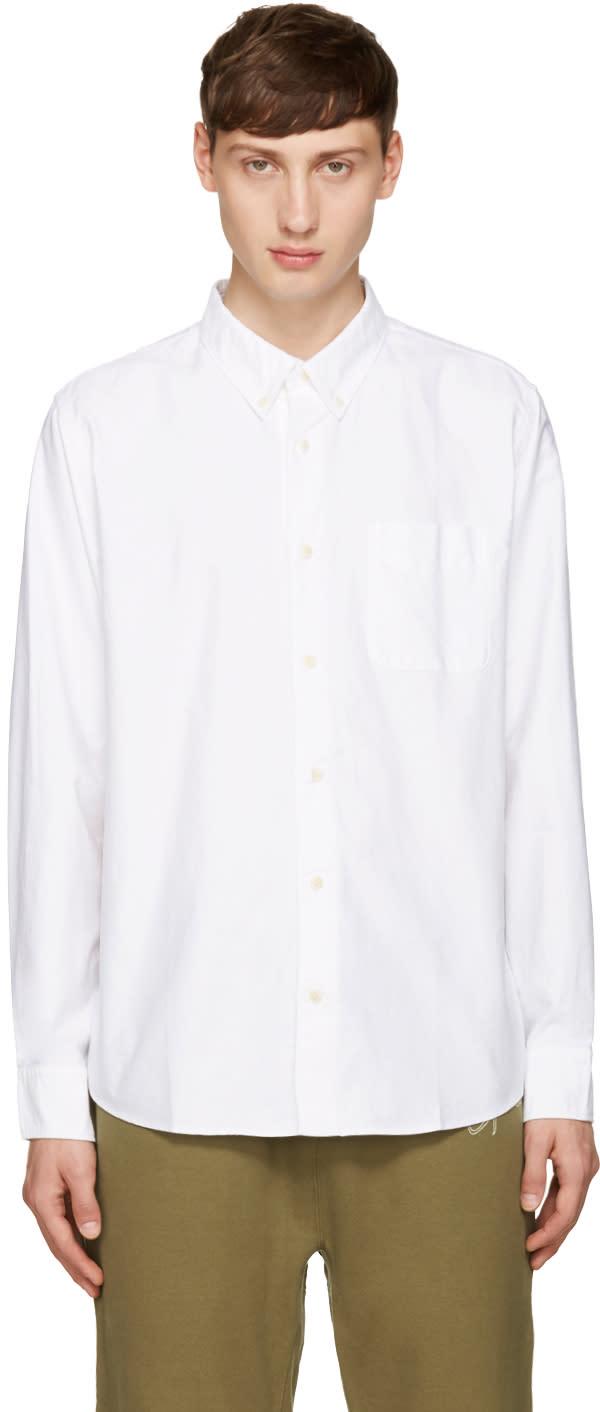 Visvim White Lungta B.d. Stars Shirt