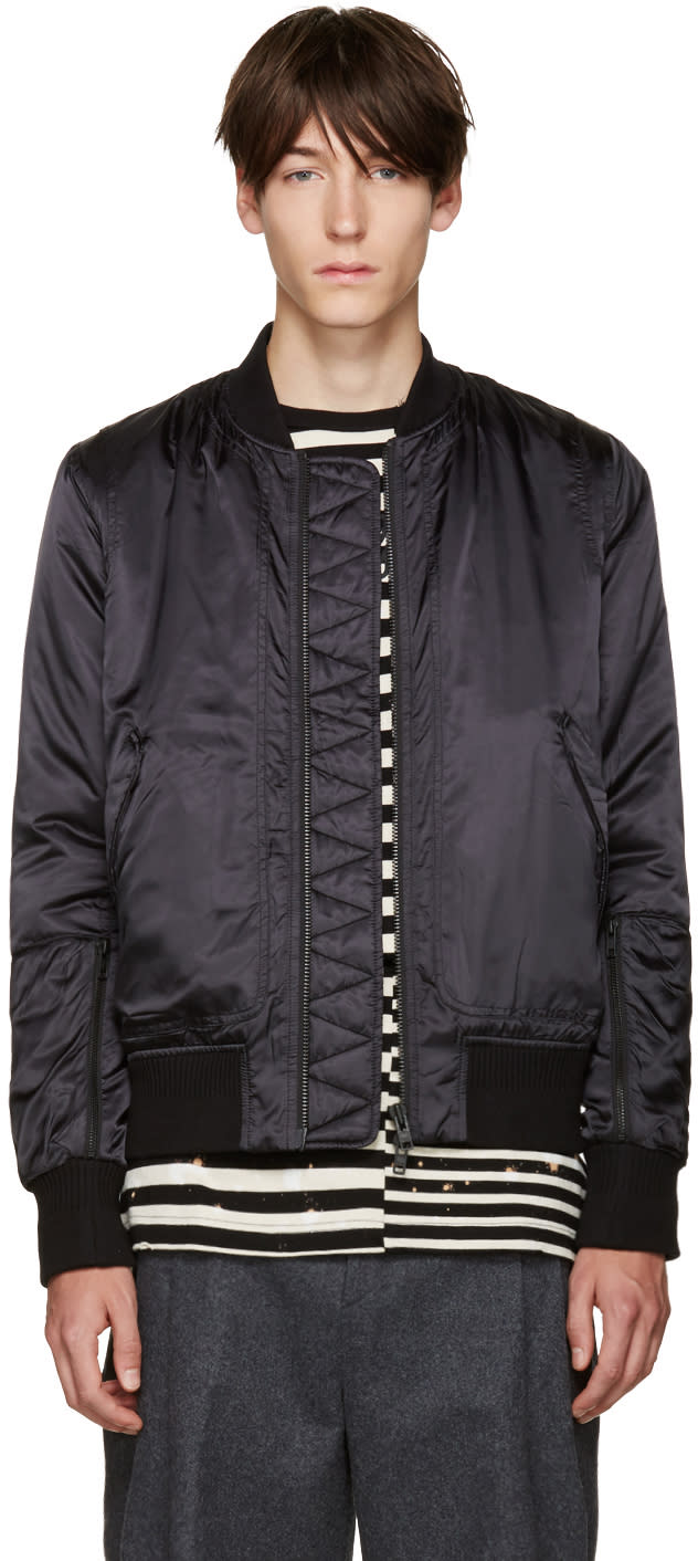 Tim Coppens Black Bomber Jacket