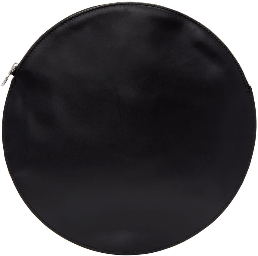 Kara Black Circle Pouch