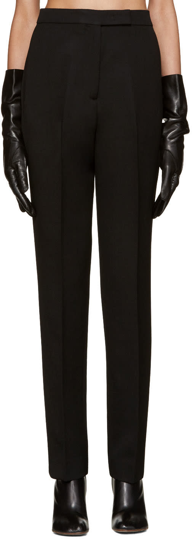 Yang Li Black Reconstructed Classic Trousers
