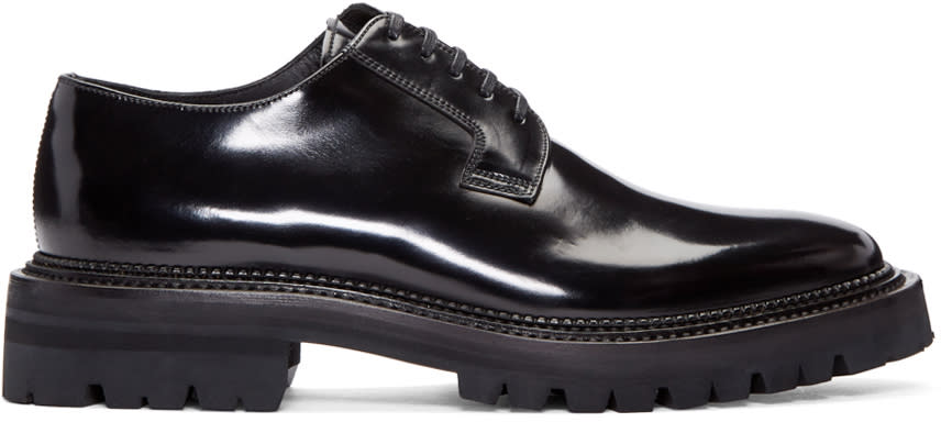 Yang Li Black Patent Leather Derbys