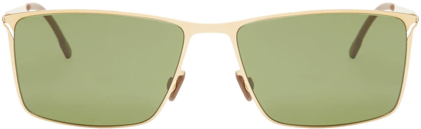 Mykita Gold Alvin Lite Sunglasses