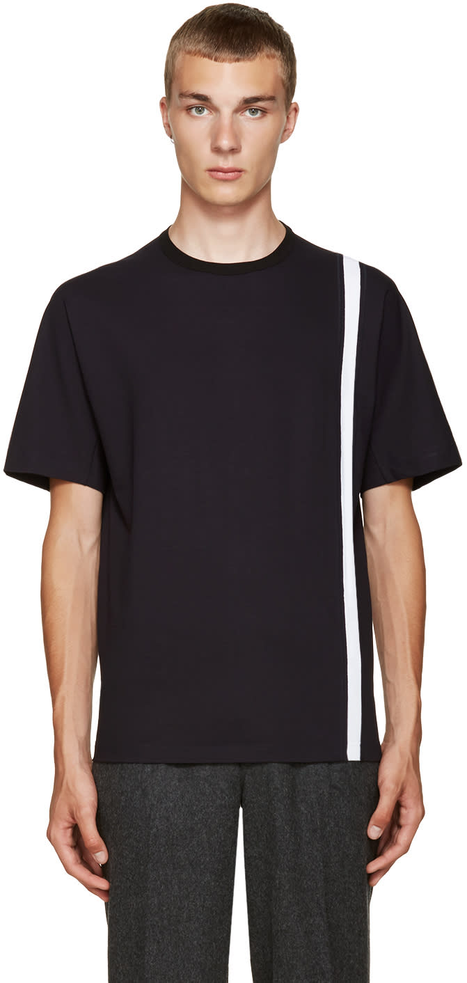Kolor Navy Stripe T-shirt