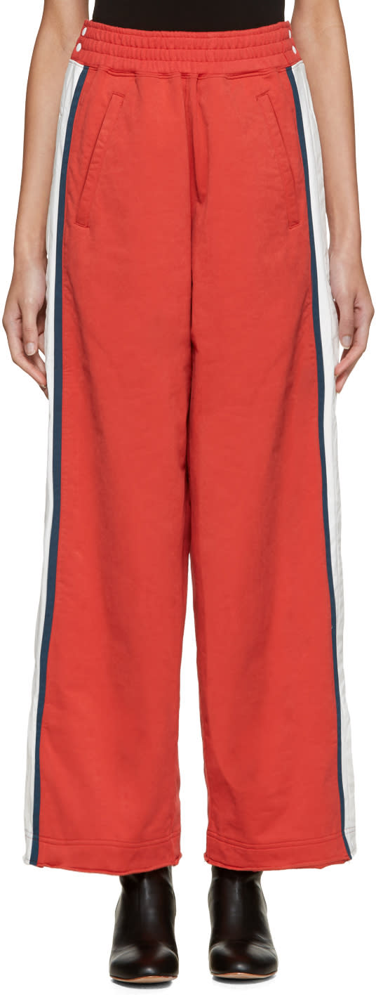 Facetasm Red Tearaway Lounge Pants