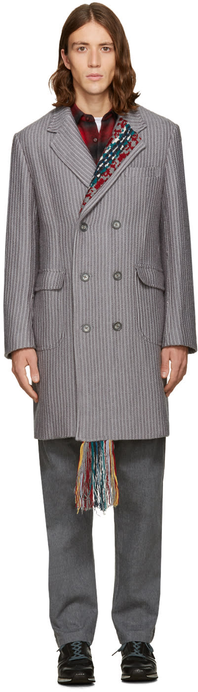 Facetasm Grey Long Coat