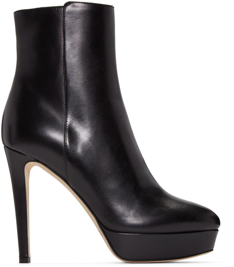 Jimmy Choo Black Maggie Boots
