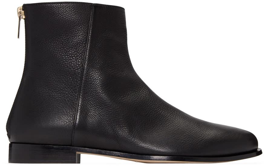 Jimmy Choo Black Duke Boots