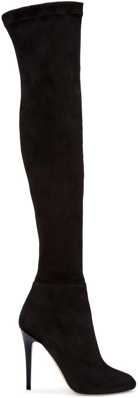 Jimmy Choo Black Turner Tall Boots