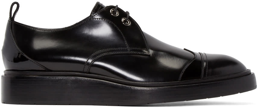 Jimmy Choo Black Patent Leather Milton Oxfords