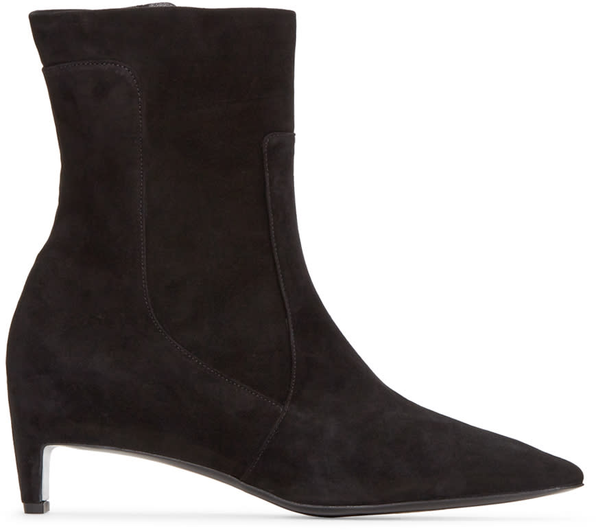 Robert Clergerie Black Admir Ankle Boots
