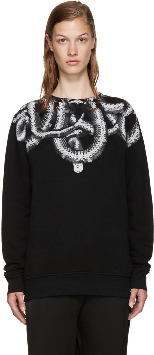 Marcelo Burlon County Of Milan Black Aconcagua Sweatshirt