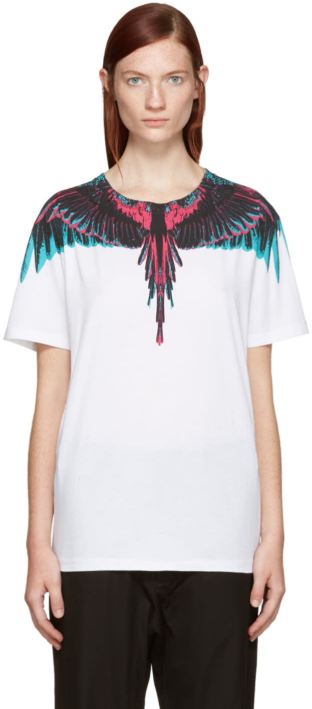 Marcelo Burlon County Of Milan White Orely T-shirt